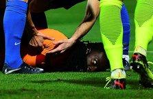 Galatasaray'ın yıldızı Bafetimbi Gomis baygınlık geçirdi