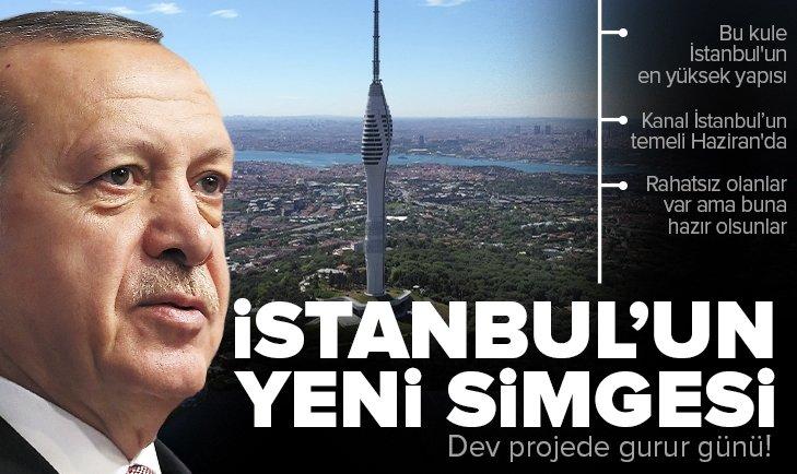 Son dakika: İstanbul'un yeni sembolü Çamlıca Kulesi açıldı! Başkan Erdoğan'dan önemli açıklamalar