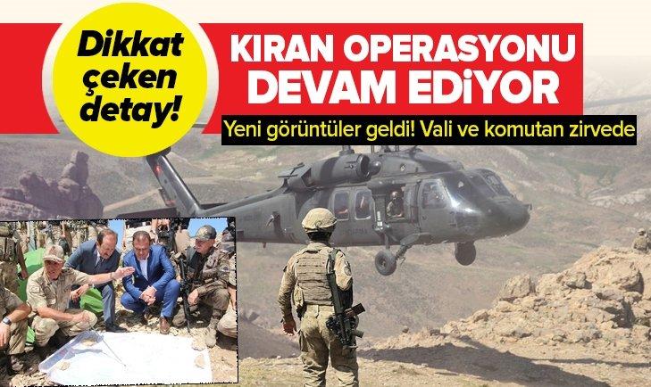 'KIRAN' OPERASYONUNDAN YENİ GÖRÜNTÜLER!