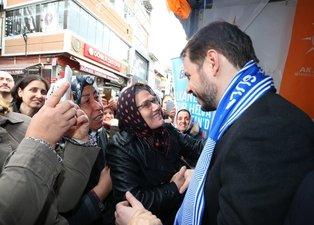 Bakan Albayrak'a İstanbul'da sevgi seli! O fotoğrafları sosyal medyadan paylaştı
