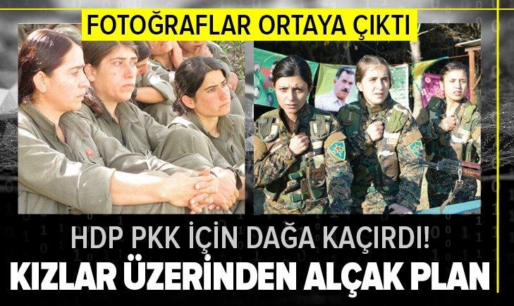 HDP'nin kaçırdığı kızların fotoğrafları ortaya çıktı