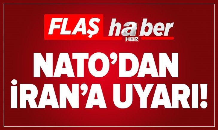 NATO İRAN'I UYARDI