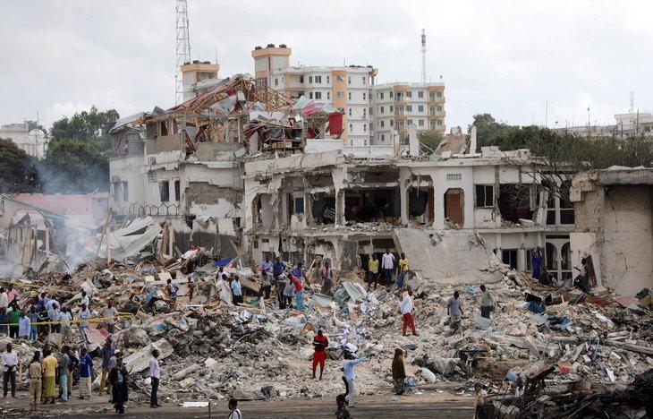 Somali'de korkunç bilanço: 231 ölü