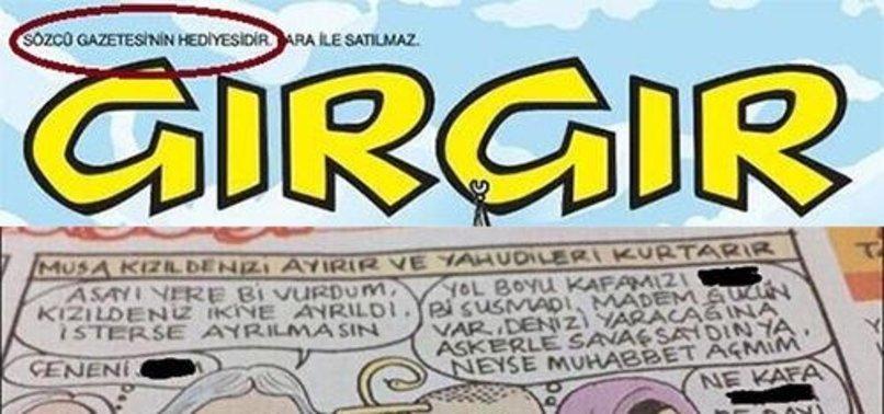 GIRGIR'DAN AHLAKSIZ HZ. MUSA KARİKATÜRÜ