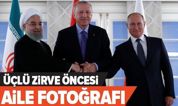 ÜÇLÜ ZİRVE ÖNCESİ AİLE FOTOĞRAFI