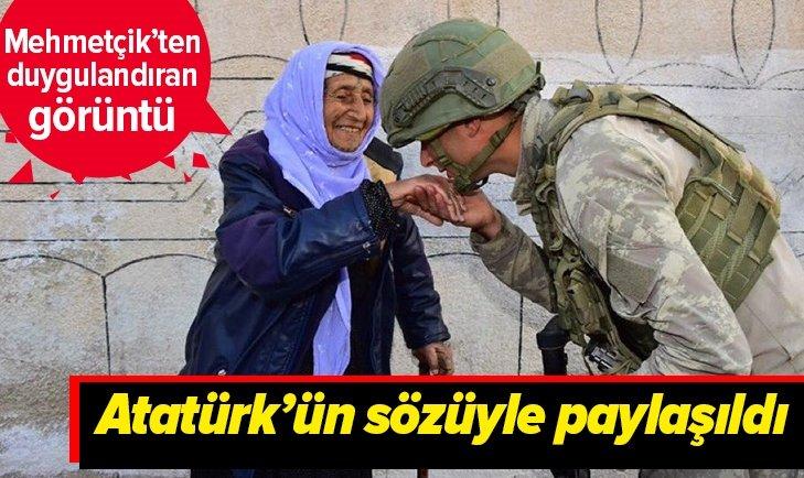 DUYGU DOLU PAYLAŞIM! ATATÜRK'ÜN SÖZÜYLE PAYLAŞILDI!