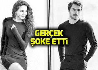 Söz oyuncusu Tolga Sarıtaş ile Hercai'nin Reyyan'ı Ebru Şahin böyle görüntülendi
