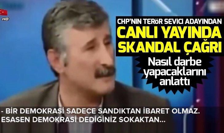CHP Beyoğlu Adayı Alper Taş'tan AK Parti'ye darbe çağrısı