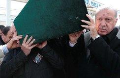 Başkan Erdoğan cenaze namazına katıldı