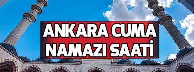 Ankara'da cuma namazı saat kaçta?