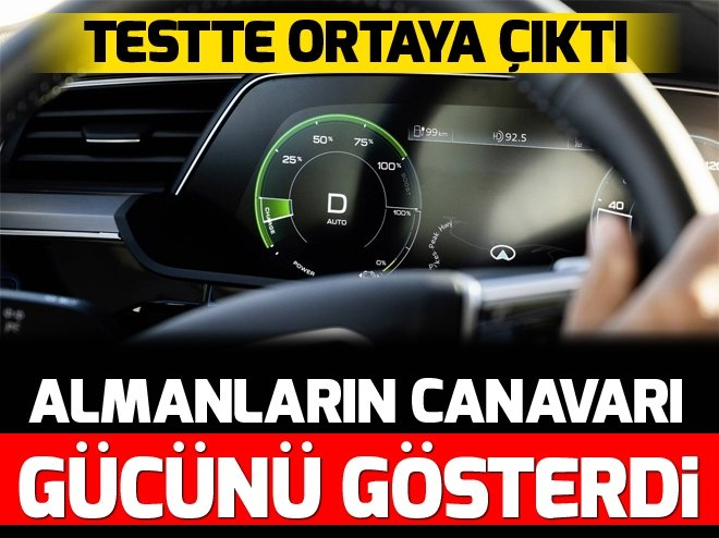 AUDİ E-TRON'UN ÖZELLİKLERİ BELLİ OLDU