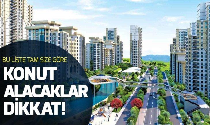 Türkiye'de konutta en yüksek fiyatlı yer belli oldu!