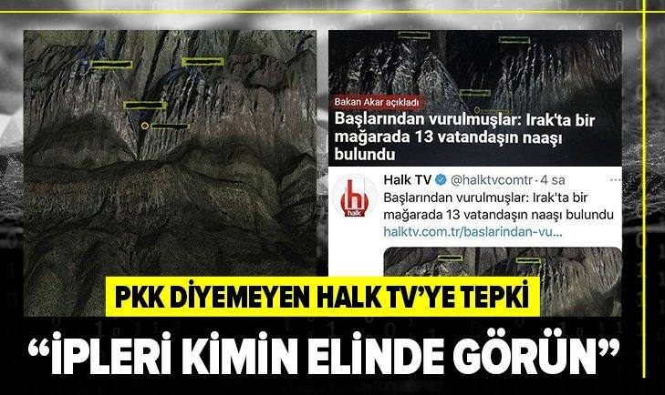 Halk TV'ye 'PKK' tepkisi