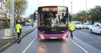 Koronavirüs vakalarının artış gösterdiği İstanbul'da toplu taşıma araçlarına koronavirüs denetimi