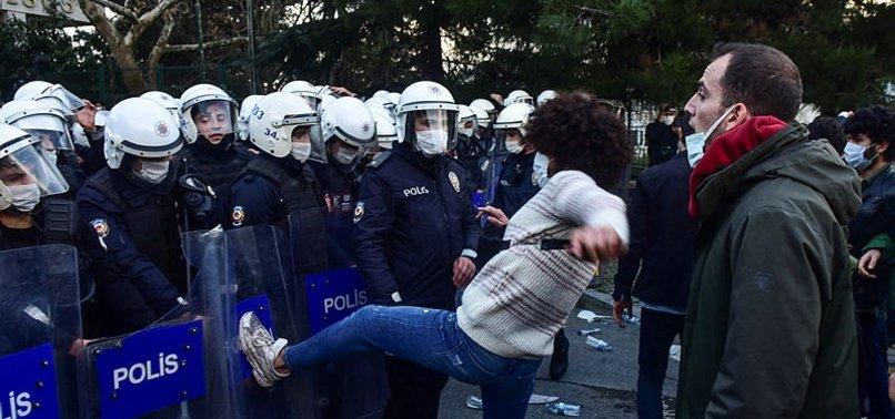 Boğaziçi Üniversitesi'nde polise saldırıp PKK sloganı atanlar kimler? Boğaziçili öğrenci her şeyi anlattı