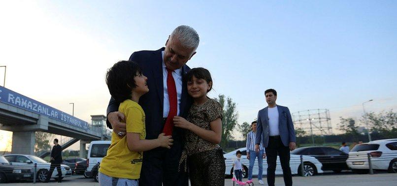 BİNALİ YILDIRIM: İSTANBUL'DA DAHA FAZLA KAYBEDECEK ZAMANIMIZ YOK