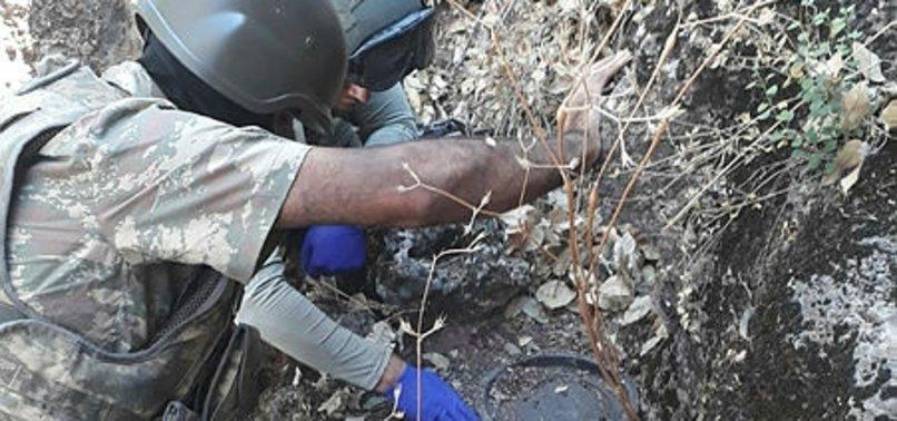Son dakika: Kıran-2 Operasyonu kapsamında PKK'ya ait 7 sığınakta çok sayıda silah ve mühimmat ele…