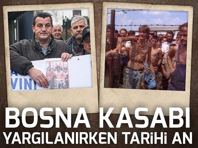 Bosna Kasabı yargılanırken tarihi an