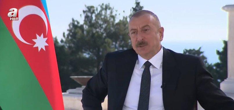 Son dakika: Azerbaycan Cumhurbaşkanı Aliyev'den A Haber'de flaş açıklamalar- ÖZEL RÖPORTAJ