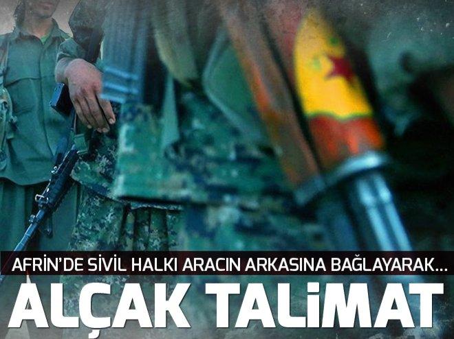 YAKALANAN PKK/PYD'Lİ TERÖRİSTLERDEN AFRİN İTİRAFLARI