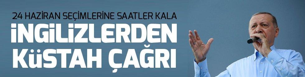 İngiliz gazetesinden 'Erdoğan'ı iktidardan düşürün' çağrısı