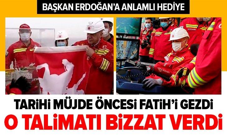 Başkan Erdoğan Fatih'te! O talimatı bizzat verdi