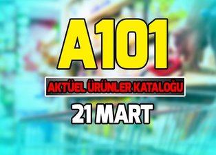 A101 aktüel ürünler kataloğu 21 Mart ile Türkiye'de ilk kez satılacak! A101 kataloğu 21 Mart 2019