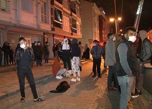 İstanbul Esenyurt'ta korkutan yangın! Vatandaş geceyi böyle geçirdi