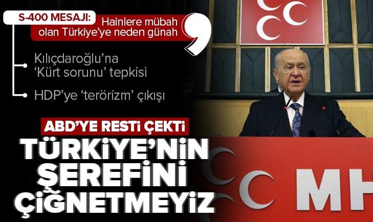 Son dakika: MHP Genel Başkanı Devlet Bahçeli'den grup toplantısında önemli açıklama