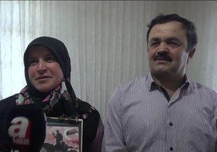 Kızılelma mesajını veren kahraman askerin ailesi A Haber'e konuştu