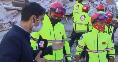 İzmir'de depremin sembol ismi olan Buse'yi kurtaran ekip A Haber'de