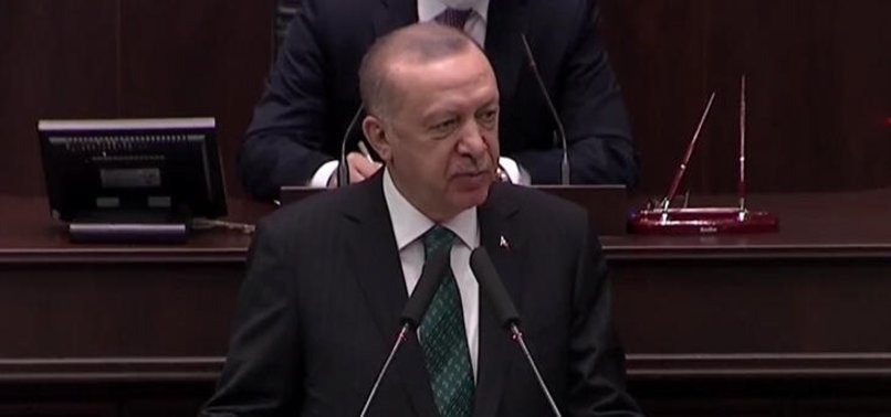 Son dakika: Başkan Erdoğan'dan AK Parti Grup Toplantısı'nda önemli açıklamalar