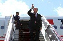 Cumhurbaşkanı Erdoğan Rusya'ya geldi
