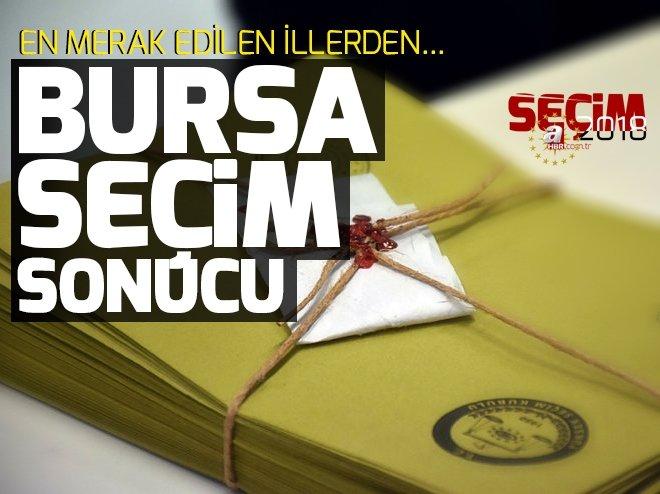 Bursa Cumhurbaşkanlığı seçim sonuçları! Cumhurbaşkanı adayları Bursa seçim sonuçları ve oy oranları