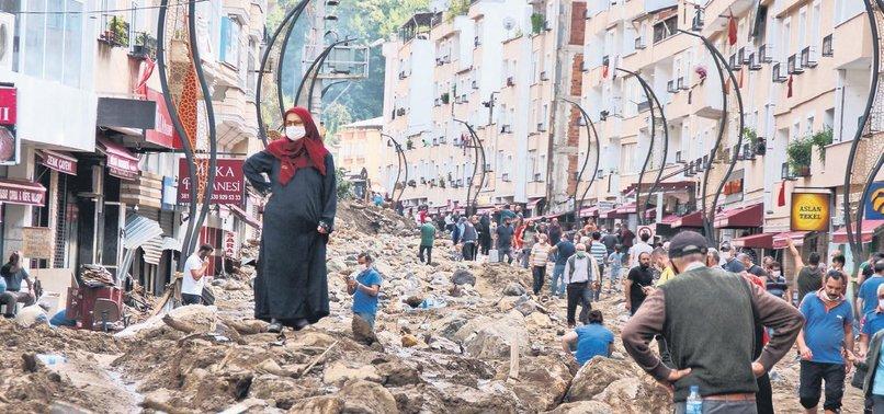 Giresun'daki sel felaketi ardından acı hikayeler bıraktı