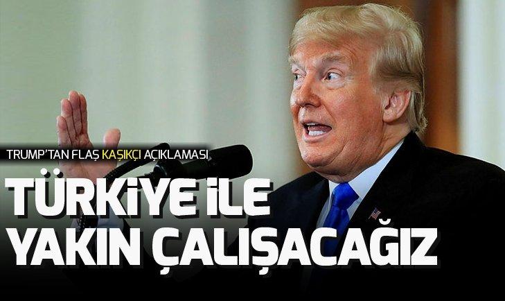 DONALD TRUMP'TAN FLAŞ KAŞIKÇI AÇIKLAMASI