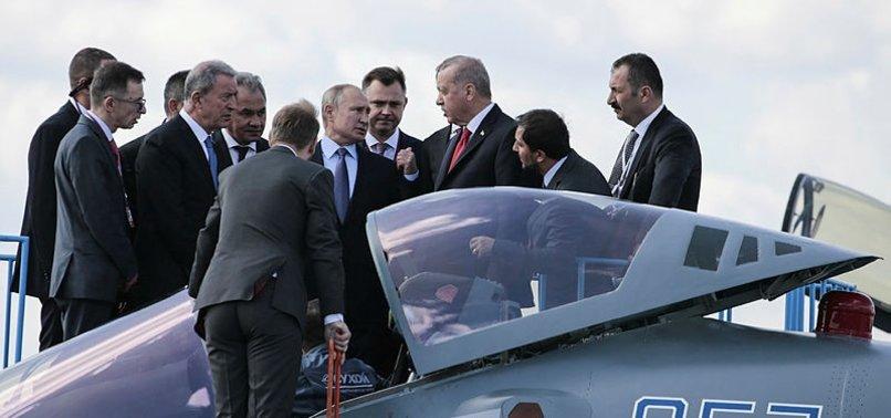 TÜRKİYE İLE RUSYA ARASINDA SU-35 VE SU-57 GÖRÜŞMESİ