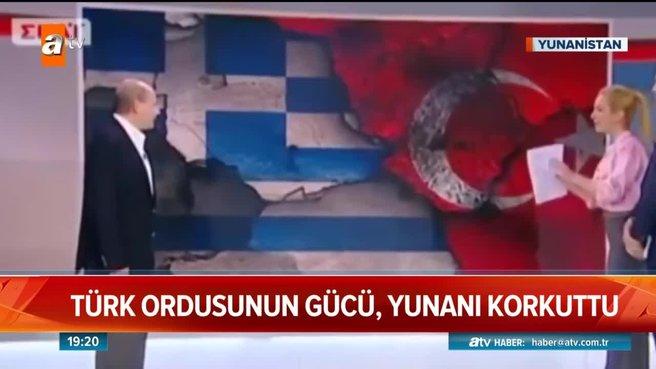 Türk ordusunun gücü Yunanı korkuttu!