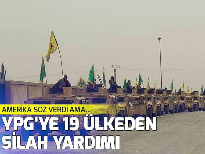 PKK/YPG'YE SİLAH VEREN ÜLKELER