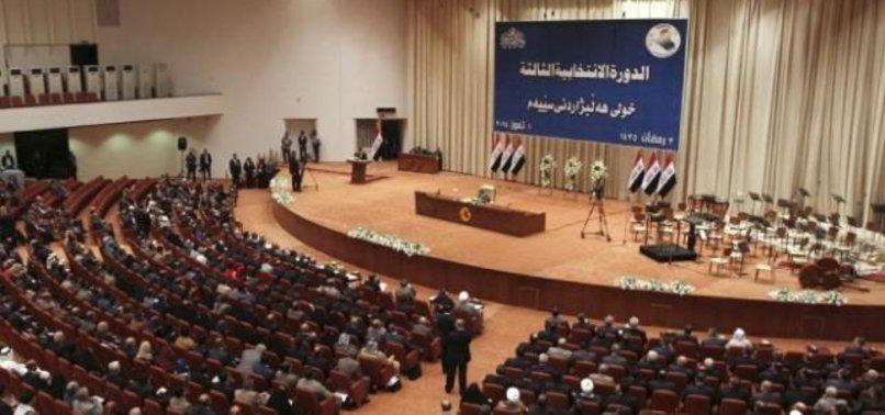 IRAK MECLİSİ'NDEN KRİTİK ABD KARARI
