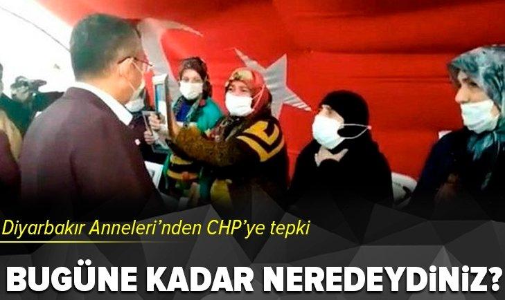 Diyarbakır Anneleri'nden CHP'ye sert tepki!