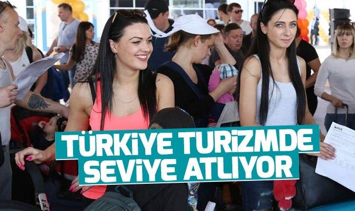 Türkiye'ye gelen turist sayısı artmaya devam edecek