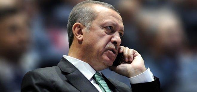 ERDOĞAN'DAN TEBRİK TELEFONU