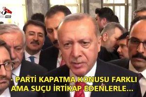 HDP'nin kapatılması girişimi olacak mı? Başkan Erdoğan yanıtladı