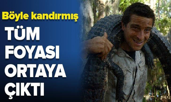 MİLYONLARI NASIL KANDIRDI! BEAR GRYLLS, HERKESİ BÖYLE UYUTMUŞ!