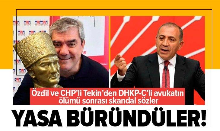 DHKP-C'li Ebru Timtik'in ölümü sonrası yasa büründüler!