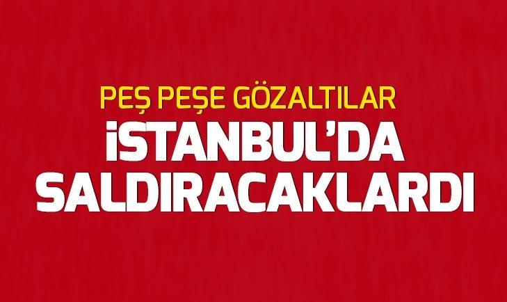 İstanbulda saldırı hazırlığındaki PKKlı teröristlere operasyon