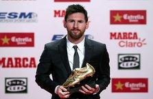 Messi, ödülüne kavuştu