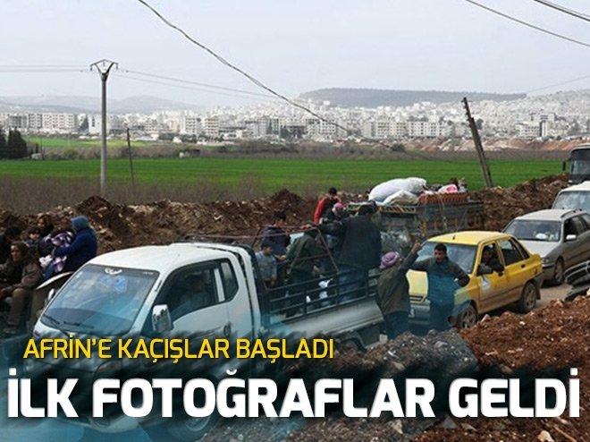 CİNDERES DÜŞTÜ, AFRİN'DEN KAÇIŞ BAŞLADI!