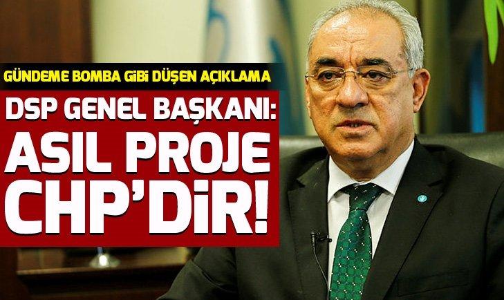 DSP Genel Başkanı Önder Aksakal CHP'yi yerden yere vurdu!